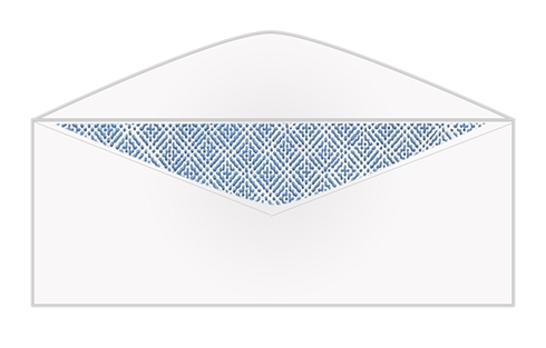 "#10 Security Tint Envelopes - 4 1/8"" x 9 1/2"